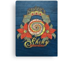Kaylee's Shiny Umbrellas Canvas Print