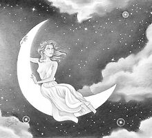 Moon Goddess by miketcherry