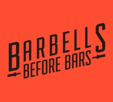 Barbells before Bars black by Quik86