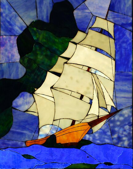 Sails Fore the Wind ! by Nancy Richard