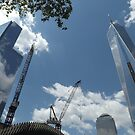 1 World Trade Center, 4 World Trade Center, Lower Manhattan, New York City  by lenspiro