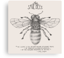 Steampunk - Save the Bees Canvas Print