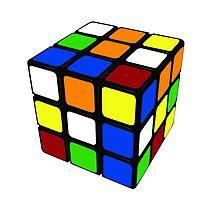 rubiks cube by camhale123