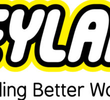 Building Better Worlds Sticker