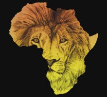 African Lion by MusaDArt