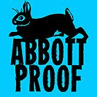 Abbott Proof Blue Card & Prints by M  Bianchi