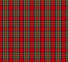 Clan Stewart Tartan by thecelticflame