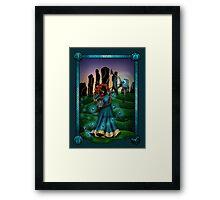 Silhouette Merida  Framed Print