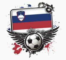 Soccer Fan Slovenia by magiktees