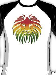 Like a Lion, Reggae, Rastafari, Africa, Jah, Jamaica,  T-Shirt