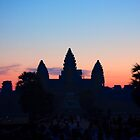 Angkor Wat Sunrise by Madeline Snow