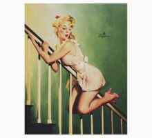 Gil Elvgren Appreciation T-Shirt no. 09 by masspleasurestv