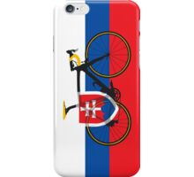 Bike Flag Slovakia (Big - Highlight) iPhone Case/Skin