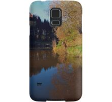 Romantic evening at the pond | waterscape photography Samsung Galaxy Case/Skin