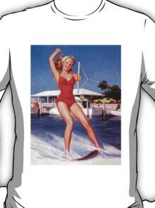 Gil Elvgren Appreciation T-Shirt no. 12. T-Shirt