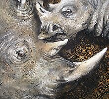 Rhino's — The Spiral of Life by Cherie Roe Dirksen