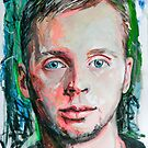 """Self portrait""  by Arts Albach"