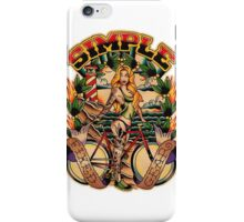 Simple Fixed Gear 01 iPhone Case/Skin
