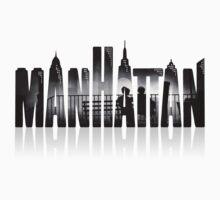 Manhattan - Logo/Image Hybrid by stella4star