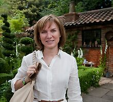 Fiona Bruce at RHS Chelsea Flower Show by Keith Larby