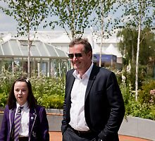 Piers Morgan at RHS Chelsea Flower Show by Keith Larby