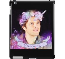 Save Unicorns (black ver.) iPad Case/Skin