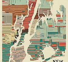 new york city map by bri-b
