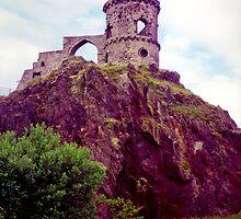 Mow Cop Castle, Fuji Velvia by Mikhail31