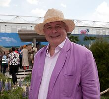 Christopher Biggins at RHS Chelsea Flower Show by Keith Larby