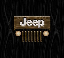Jeep Willys ~ Wood [Black] by vikaze