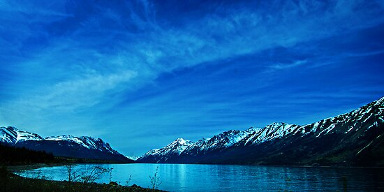 Lake Bennett Sky by Yukondick