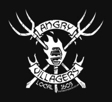 Angry Villagers (white/black) T-Shirt