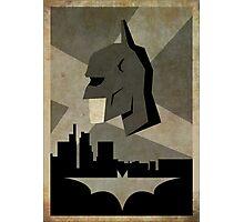 Batman Alternative Poster Photographic Print