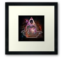 Deep Meditation #2 Framed Print