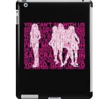 Mean Quotes iPad Case/Skin
