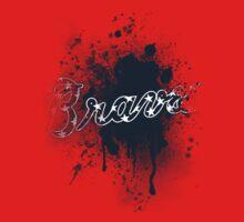 Braves Splatter by JayJaxon