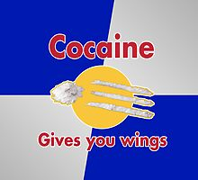 Cocaine gives you wings by adma101