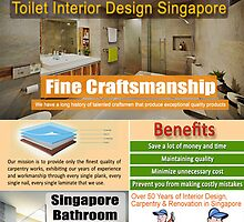 Toilet Renovation Package Singapore by DesignSingapor