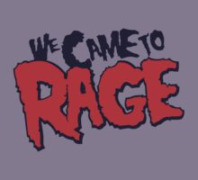 MGK - We Came To Rage Kids Clothes