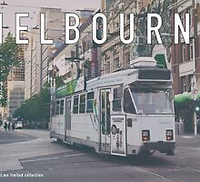Melbourne Postcard by jamespaullondon