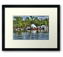 Mississippi Harbor 3 Framed Print