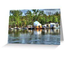 Mississippi Harbor 3 Greeting Card