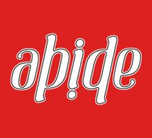 Abide Ambigram by VashCrow