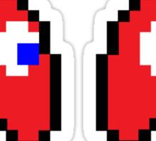 Red Ghosts Sticker