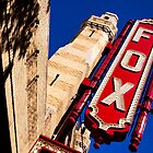 Fabulous Fox Theatre in Atlanta by Mark Tisdale
