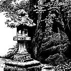 Stone Lantern, Nikko by Sundayink