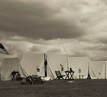 Tenting Tonight on the Old Camp Grounds by Russell Fry
