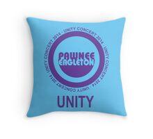 Pawnee Eagleton Unity Concert 2014 Throw Pillow