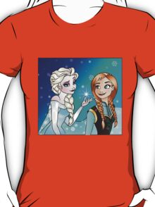 Disney Princesses - Anna and Elsa T-Shirt