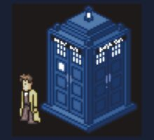 Dr.Who Pixel art T-shirt by Dezgamer